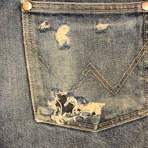 Wrangler Shorts - Wrangler vintage high waist jean shorts 29